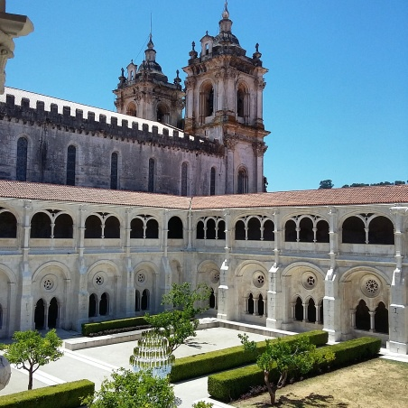 Clautro do Mosteiro de Alcobaça