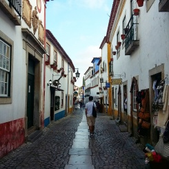 Rua Direita - `Óbidos