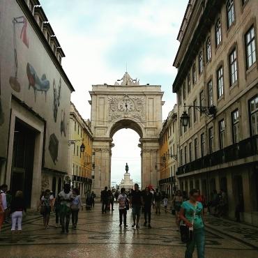 Arco Triunfal - Praça do Comércio