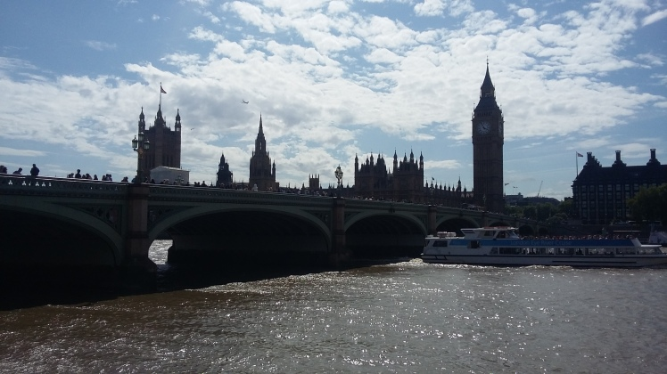 Big Ben, Parlamento e Westminster Bridge, Londres