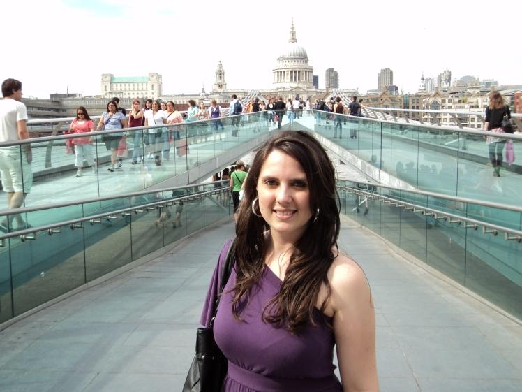 Millenium Bridge e St Pauls Cathedral, Londres