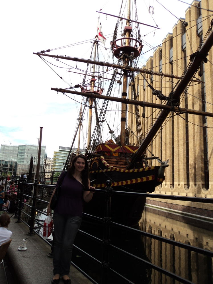 Golden Hinde II - Southbank, Londres