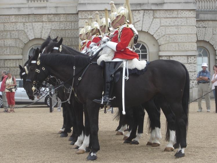 Troca da Guarda no Palácio de Buckingham, Londres