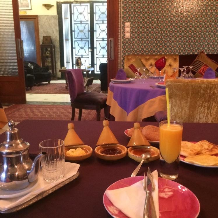 Café da Manhã no Riad de Casablanca, Marrocos
