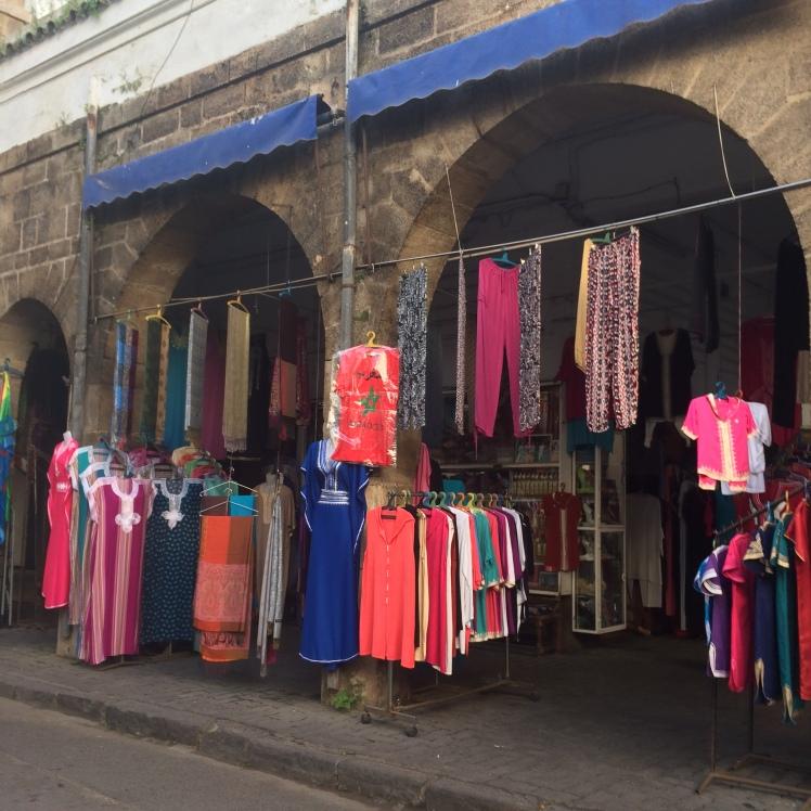 Bairro Quartier Habous em Casablanca, Marrocos