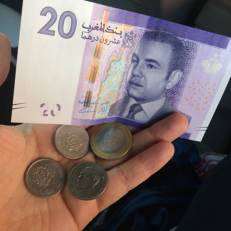 Dihans, O dinheiro do Marrocos