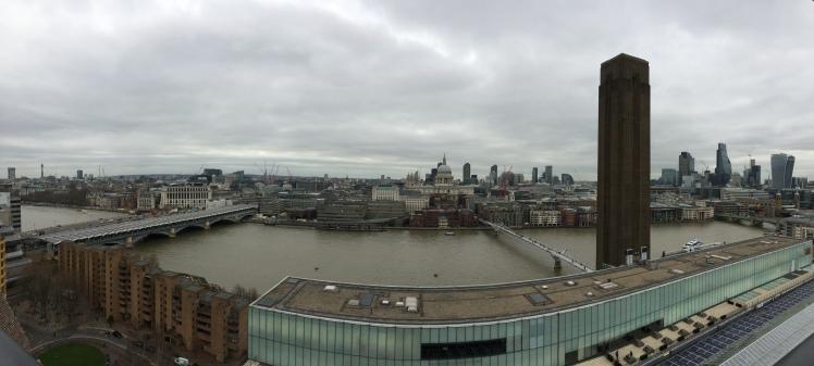 A vista da Tate Modern, Londres