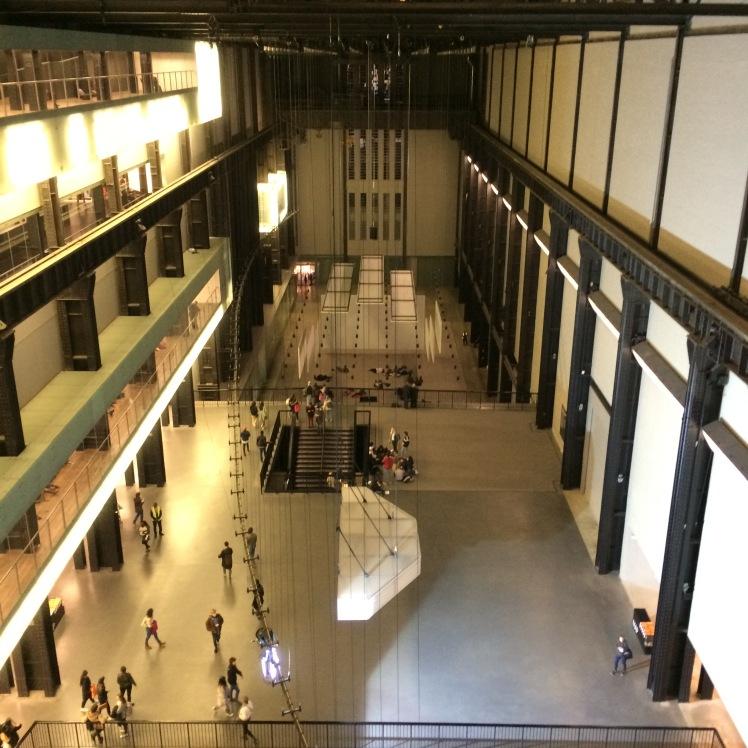 Por dentro da Tate Modern, Londres
