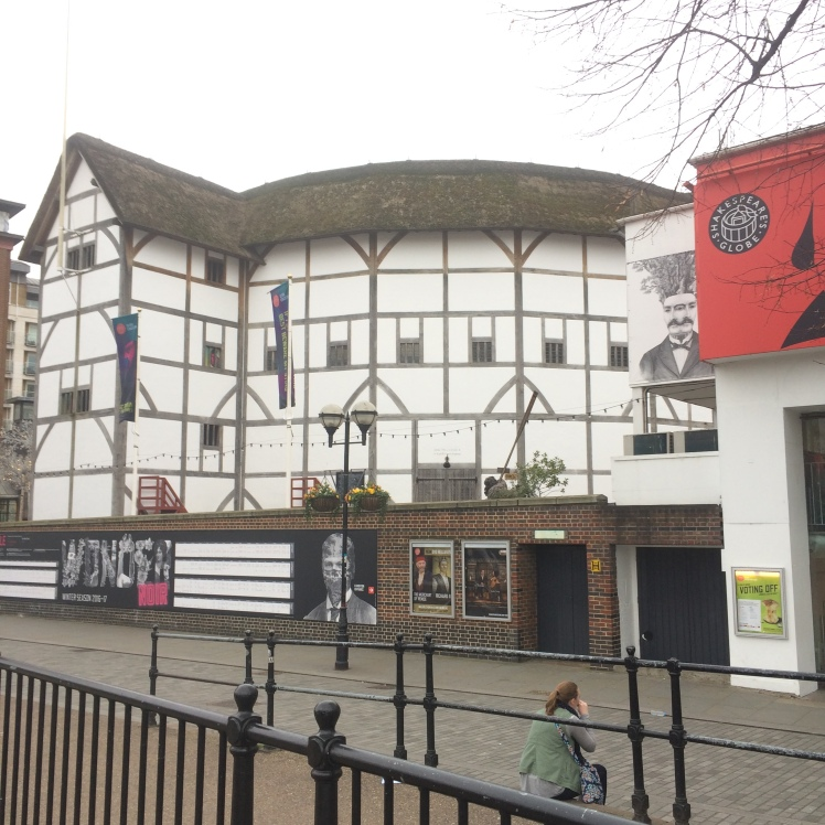 Shakespeare Globe, Southbank, Londres
