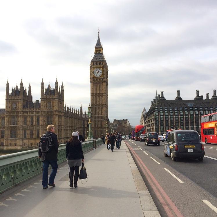 Westminster Bridge e Big Ben, Londres