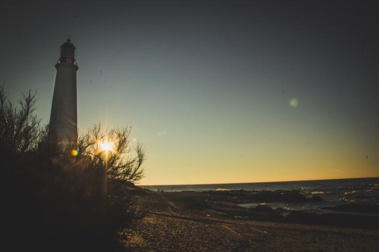 Entardecer no farol – Cabo Polônio