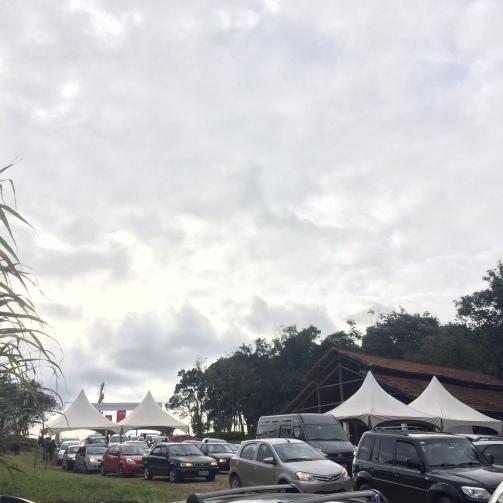 Fila para Estacionamento no Festival das Cerejeiras Bunkyos em São Roque / SP