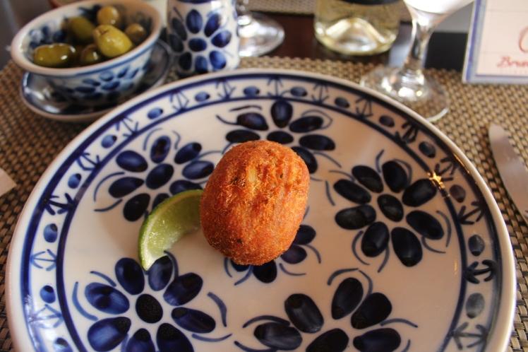 Restaurante Quinta do Olivardo - Bolinho de Bacalhau