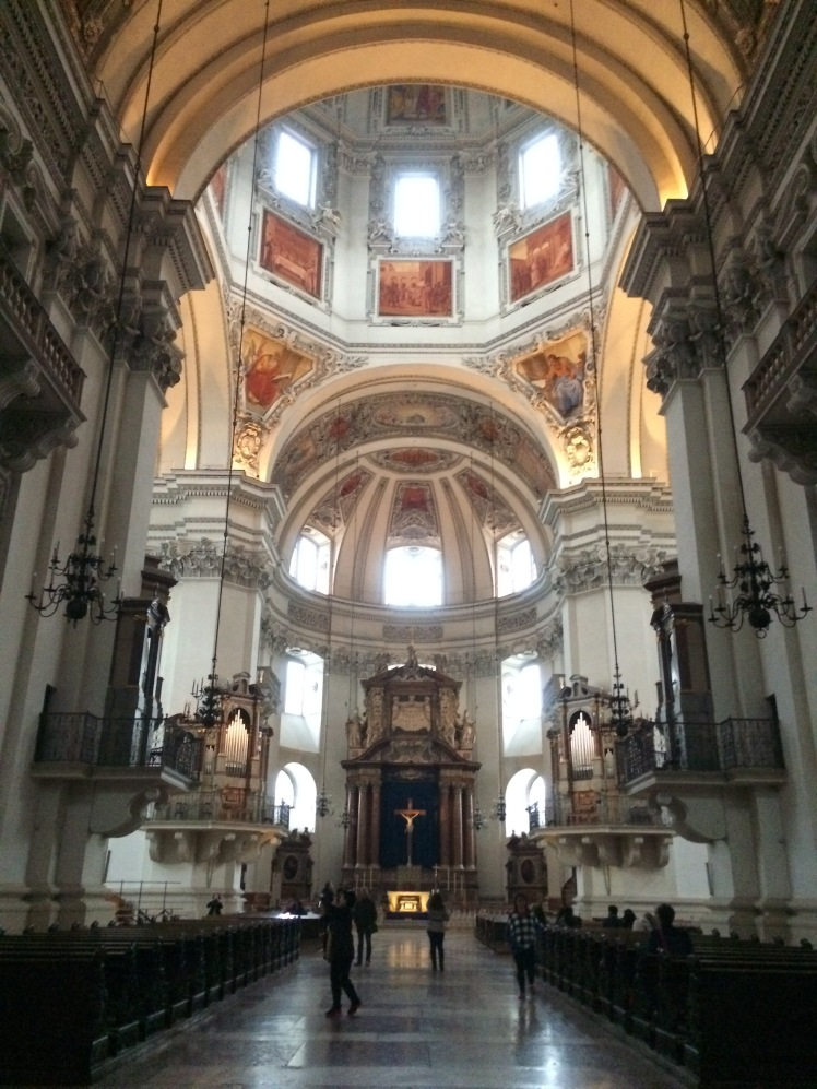A Catedral de Salzburg