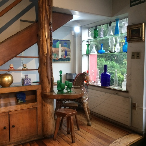 La Chascona em Santiago- Circuito Casas Museus de Pablo Neruda - Nesta sala que Pablo foi velado.
