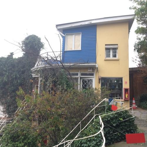 La Chascona  - Casa Museu de Pablo Neruda em Santiago