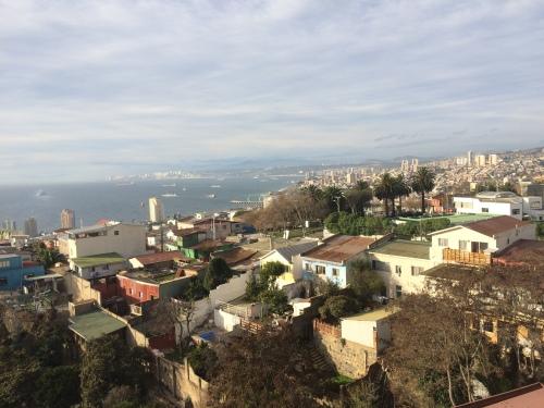La Sebastiana em Valparaíso- Circuito Casas Museus de Pablo Neruda - Vista maravilhosa para o Oceano Pacífico