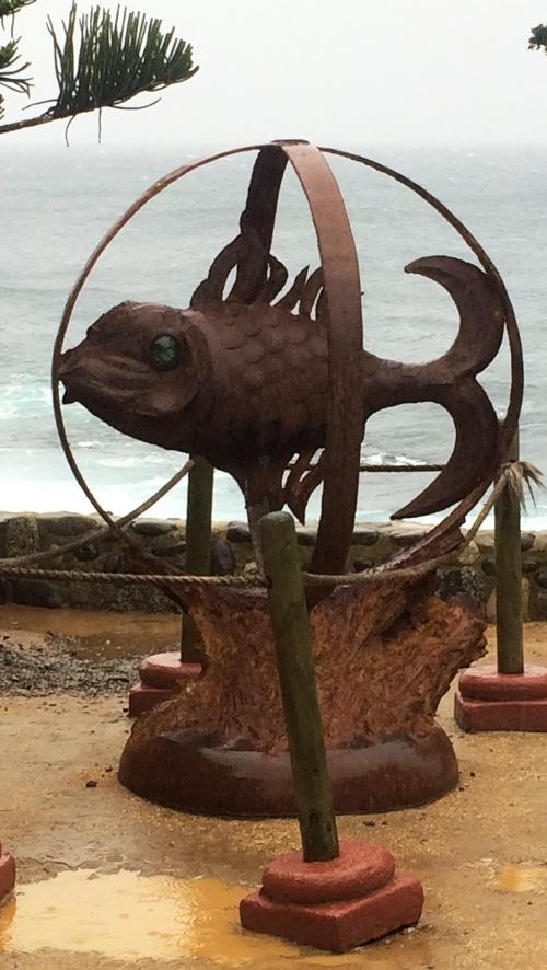 Isla Negra em El Quisco- Circuito Casas Museus de Pablo Neruda - Peixe símbolo da casa Isla Negra