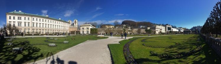 Mirabell Platz - Salzburg