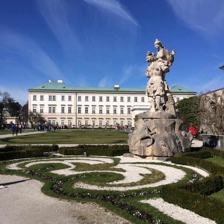 Estatua por Ottavio Mosto - Mirabell Platz - Salzburg