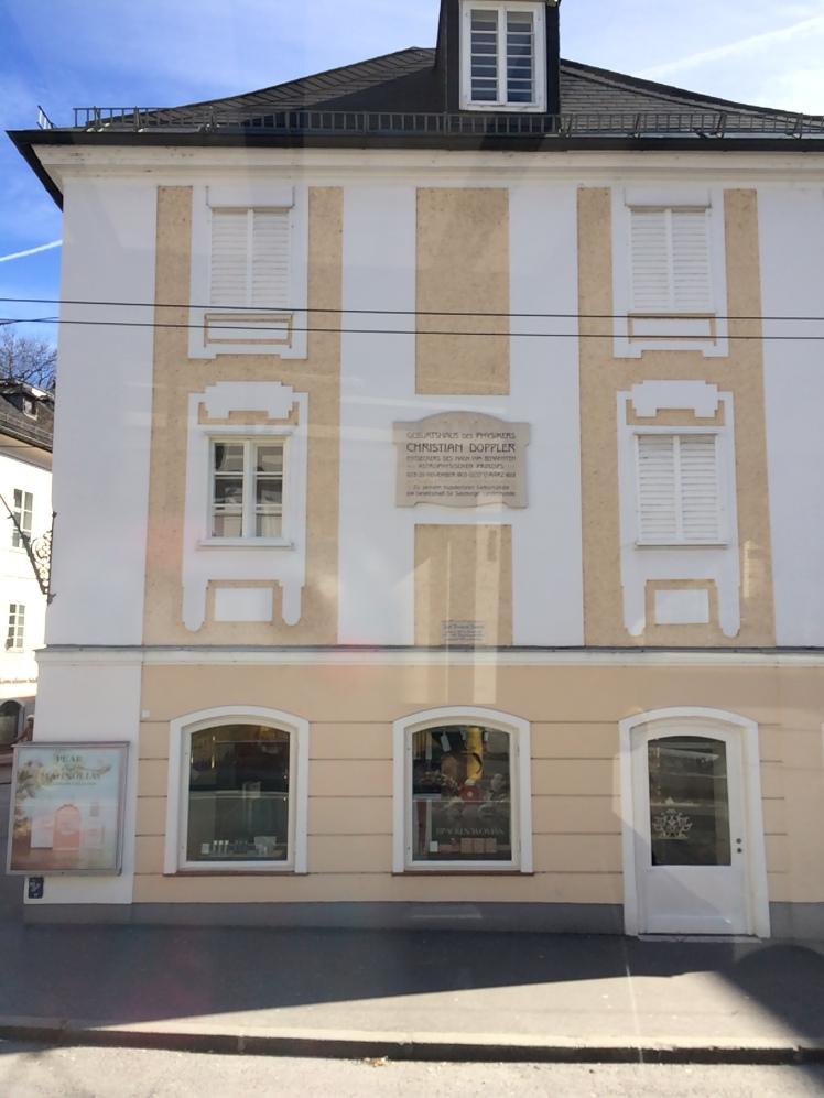Casa de Christian Doppler - Salzburg