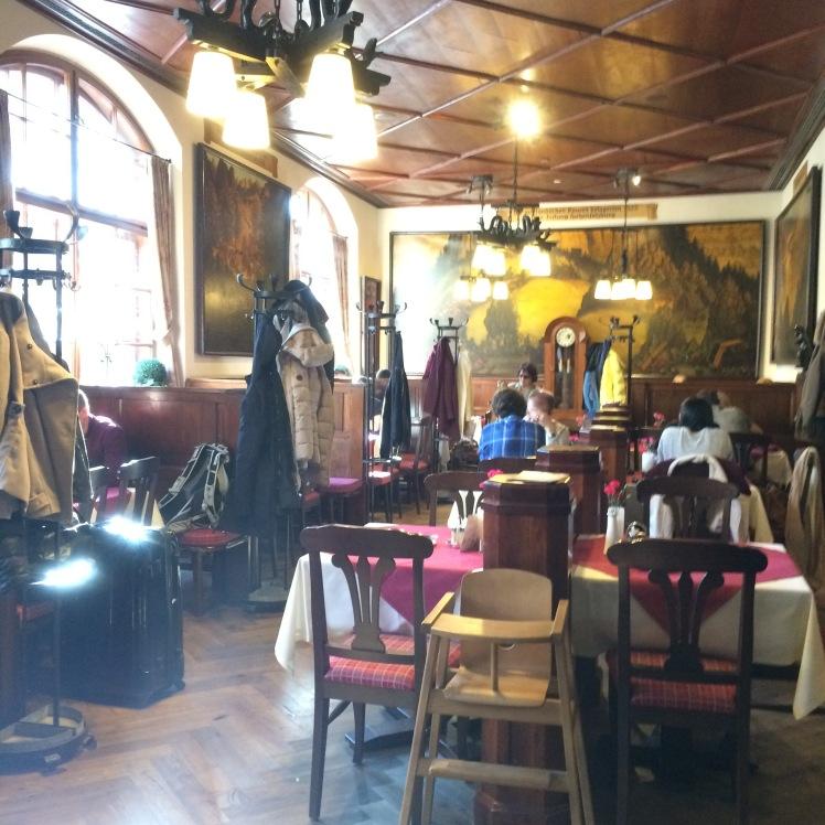 Restaurante e Cervejaria Sternbräu em Salzburg