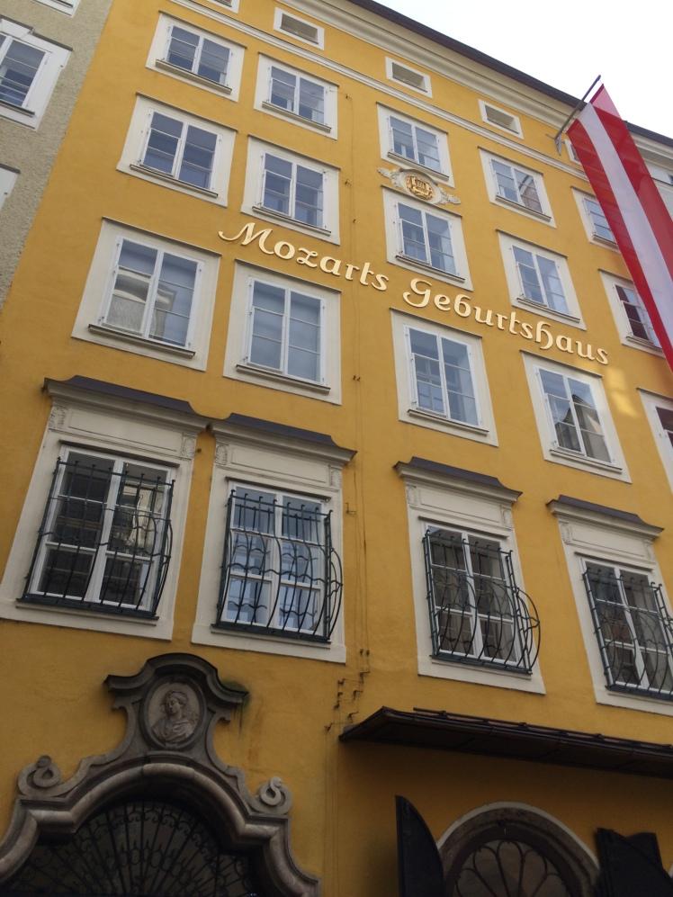 Mozarts house - Salzburg