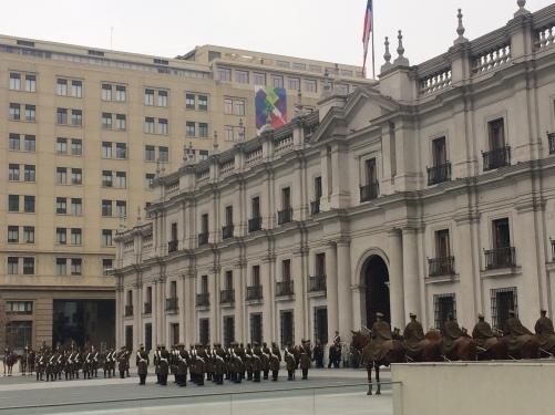 Troca da Guarda - La Moneda - Santiago / Chile