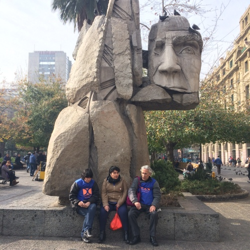 Plaza de las Armas - Santiago - Chile