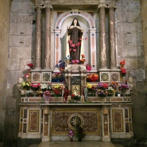 Santa Tereza dos Andes - Catedral de Santiago / Chile
