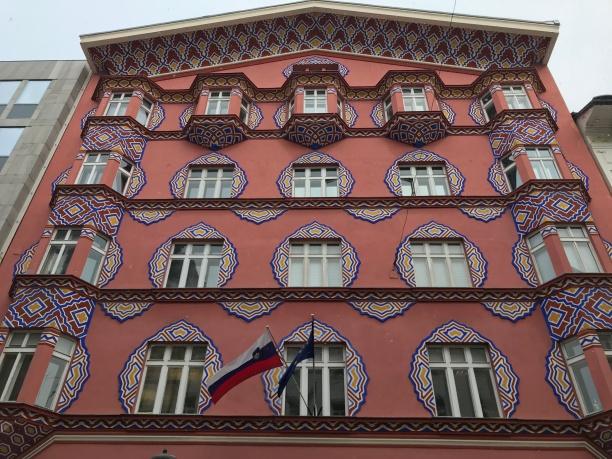 Art Nouveau em Liubliana, Eslovênia