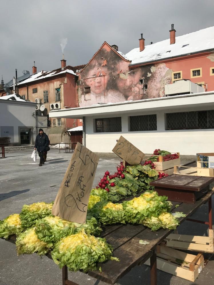 Dolac Market em Zagrebe