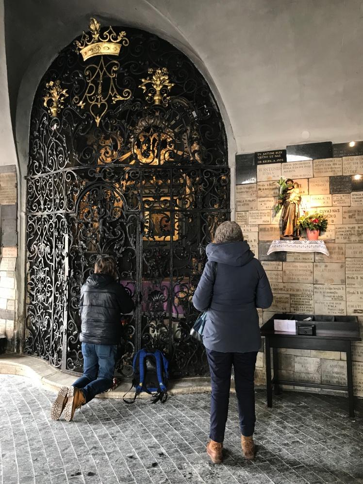 Portão de Pedra ou Stone Gate - Zagreb