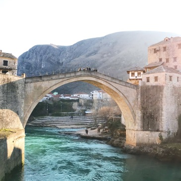 Old Bridge ou Stari Most - Mostar - Bosnia Herzegovina