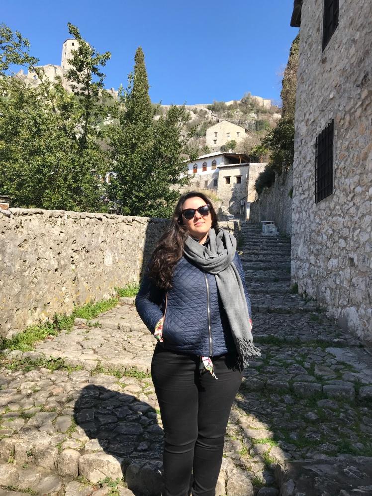 Pocitelj, a cidade da Pedra na Bosnia Herzegovina