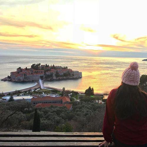 Sveti Stefan - Road trip da Croacia para Montenegro