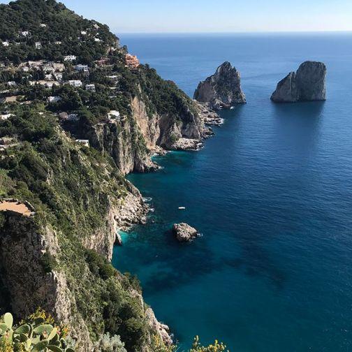 Capri a partir do Belvedere P Canoni