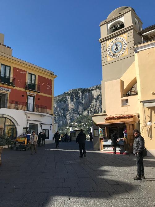 Piazza Humberto - Capri