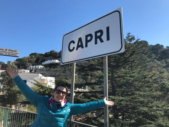 Meu dia lindo de Inverno em Capri