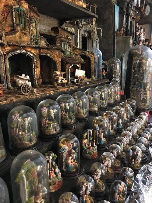Os presepios da via de San Gregório Armeno