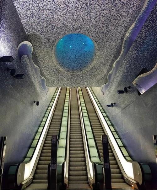 Estação de Metro Toledo - Napoli