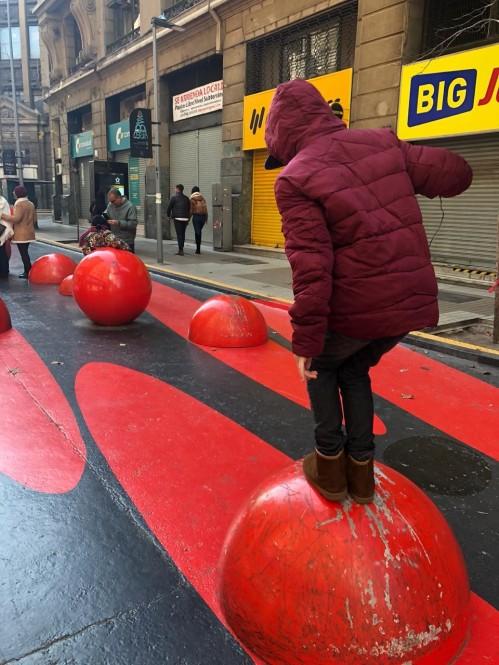 Pelas ruas do Centro de Santiago