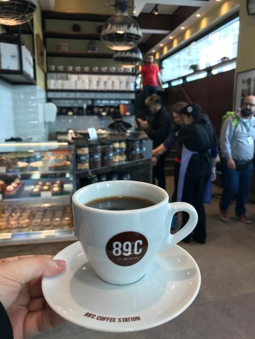 89ºF Coffee Station