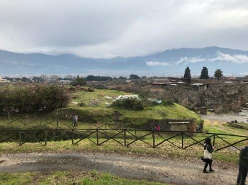 Ponto mais alto de Pompeia - 2018