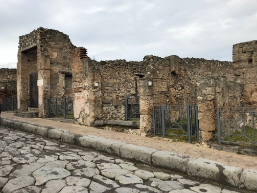 As ruas de Pompeia 2018