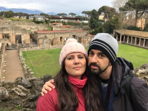 Casa dos Gladiadores em Pompeia 2018