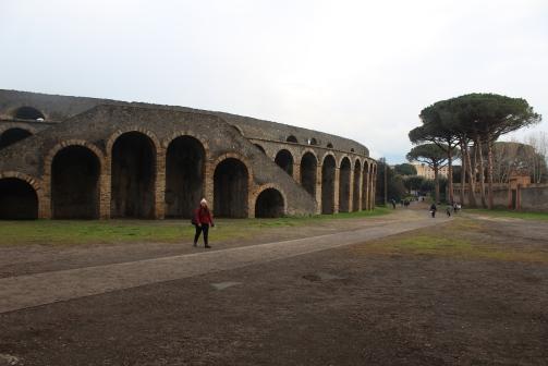 Anfiteatro de Pompeia 2019