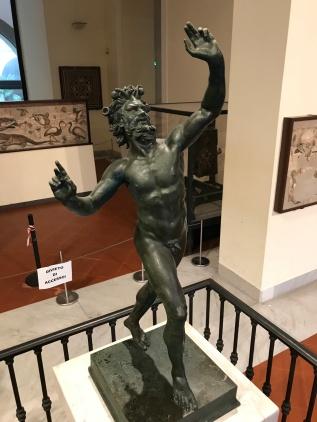 Fauno Original - Esta no Museu Arqueologico de Napoles
