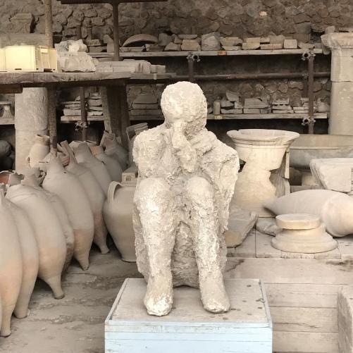 Os corpos encontrados em Pompeia