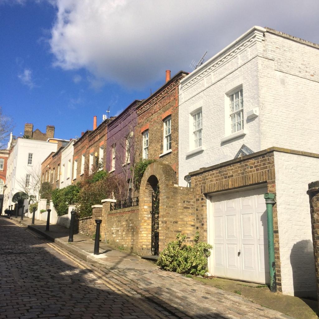 Um tour por Hampstead, Londres - Back Lane